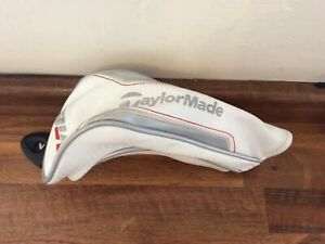 Taylormade Hybrid M6 Golf Headcover In White Number Disc Attached