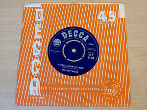 "EX !! The Wayfarers/Whistle Down The Wind/1961 Decca 7"" Single"