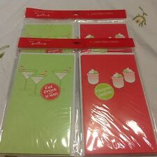 12 Hallmark Christmas Cards Connections great for money or gift cards NIP