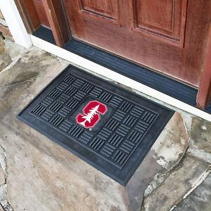 Stanford University Medallion Heavy Duty Durable Vinyl Doormat - 3-D logo