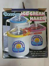 Donvier Ice Cream Maker 1 Pint Chillfast Hand-Crank