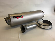 TRACK DAY CAN TO FIT AKRAPOVIC 60mm LINK PIPE EXHAUST SILENCER NEW