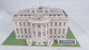 WHITE HOUSE Architecture Paper Model Kit Washington DC Historical Buildings 3D M