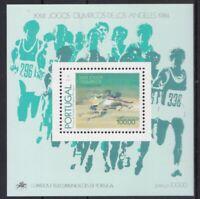 Portugal 1984 postfrisch MiNr. Block 45  Oly. Spiele  Los Angeles 1984