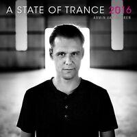 ARMIN VAN BUUREN - A STATE OF TRANCE 2016  2 CD NEW+ DAVID GRAVELL/GAIA/GENIX