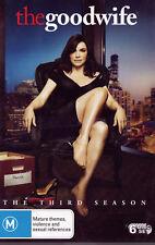 THE GOOD WIFE Season 3 - DVD R4 - PAL