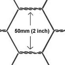 Chicken Wire mesh 1800mmX50mt (50mm Hole) wire gauze 0.8mm