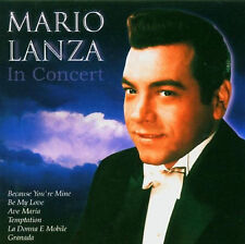Mario Lanza - In Concert - CD - BRAND NEW SEALED