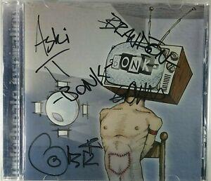 Autographed Signed BONK Unfortunate Inspiration CD