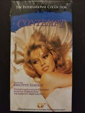 Contempt (VHS, 1992) Brigitte Bardot 1964 Drama NEW SEALED