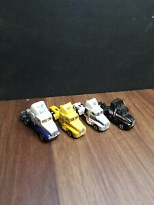 4 Vintage Road Champs/Racing Champs 1987-91 Kenworth T600A STP, PENNZOIL Trucks