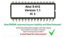 Akai S-612 - Version 1.1 Firmware OS Update Upgrade EPROM for S612 80s Sampler