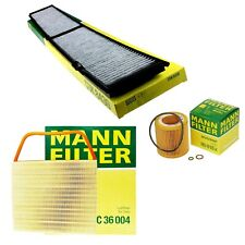 Mann Oil Air Carbon Cabin Filter Kit for BMW E82 E90 E92 E93 135i 335i 3.0 L6