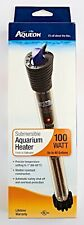 *AQUEON Submersible Aquarium Heater 100WATT Fresh or Saltwater up to 40 Gal