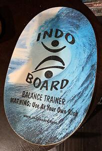 New Indo Board Original Balance Trainer (Board Only) Fitness Surf Skateboard