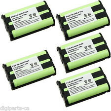 5X For PANASONIC Cordless Phone HHR-P104 Ni-MH Battery 900mAh