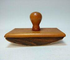 Vintage Wooden Ink Blotter