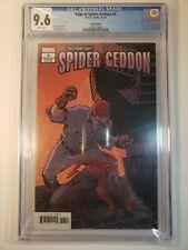 Edge of Spider-Geddon #3 1st Print 1ST APP / Cully Hammer Variant CGC 9.6 NM+
