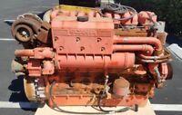 Scania DI 12 , Marine Diesel Engine , 500 HP , 11.70L , 6 In-Line