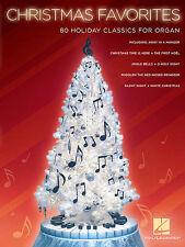 Christmas Favorites Sheet Music Organ NEW 000144576