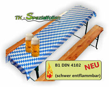 OKTOBERFEST Dekoration Bayern Folie Bavaria blau weiss bayrische Deko B1 Wiesn