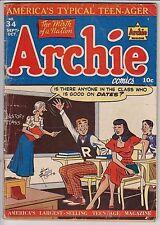 Archie Comics #34 VG-