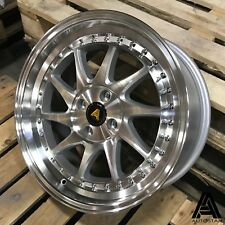 "Autostar VADER 17"" 4x100 et35 alloys fit BMW Mini Cooper Cooper S R53 R56 One"