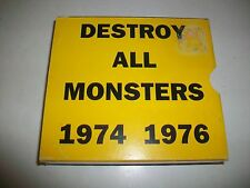 DESTROY ALL MONSTERS -1974-1976 1ST PRESS 3CD FATHER YOD 1994 - NIAGARA DETROIT