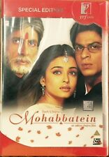 MOHABBATEIN DVD - SHAHRUKH KHAN, AISHWARYA RAI - BOLLYWOOD MOVIE DVD / SPL EDITI