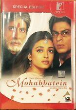 Mohabbatein - Shahrukh Khan, Aishwarya Rai - Official 2-Disc Edition DVD ALL/0 S