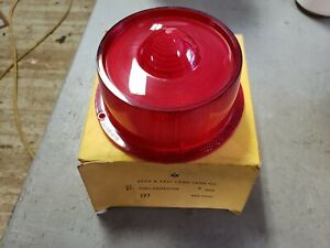 NOS 1959 Ford Tail Light Lens Galaxie Fairlane Made by Glo Brite