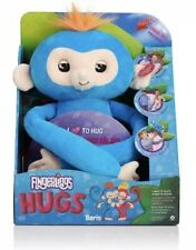 Fingerlings HUGS Blue-Boris Interactive Plush Monkey