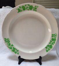 """Spode Copland """"Shamrock"""" Chop Plate 13"""" Serving Platter Cream & Green Vintage"""