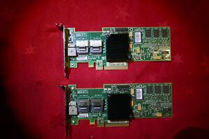 RAID Controller LSI 8708EM2 Megaraid 8 Port SAS SATA PCIe x8 256MB Cache