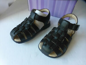 Pediped baby girls brown leather sandals sz 7 eu sz 23 soft leather (#1)