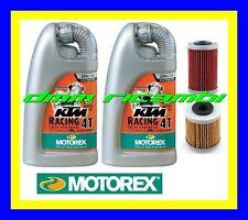 Kit Tagliando KTM 690 DUKE SMC R ENDURO 14 Filtri Olio MOTOREX Racing 20W60 2014
