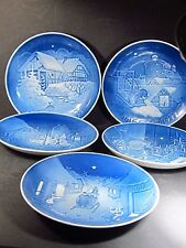 Bing & Grondahl Set Of 5 Annual Plates 1975-1979