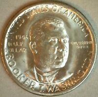 1946 S Booker T Washington Silver Commemorative Half Dollar 50c Coin BU K2