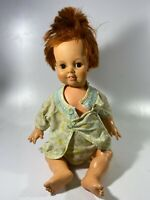 "Vintage, Crissy, CLASSIC Doll, Red Hair GHB-H-225 1970 PreOwned 22"" Tall"