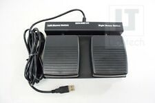 USB Double Button Dual Mouse Click Foot Pedal ECS-DMF-FP New
