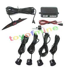 Coche 4 Parking System Backup Sensores LED 230cm Kit Negro