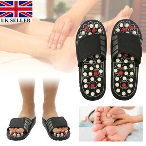 Massage Slippers Sandal Feet Reflexology Acupressure Foot Massager Shoes UK