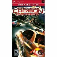 Need For Speed Carbon: Own The City Greatest Hits Sony For PSP UMD Racing 0E