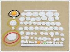 1Bag/75PC  Plastic gear model rack pulley belt Worm gear Single double gear teeh