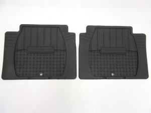OEM 2010 2011 2012 Hyundai Veracruz REAR Black Rubber All Weather Floor Mats