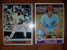 1979 baseball cards 34 count of stars no commons willie randolph Cecil cooper mo
