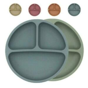 Food Grade Silicone Plate Baby Safe Dining Plates Children Dish 2021 NEW