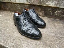 ALFRED SARGENT BROGUES - BLACK – UK 7.5 – ENFIELD