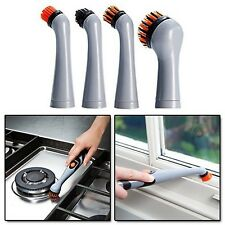 Cleaner Brush Home Car Sonic Oscillating Power Scrubber Tool Heads Refill JML