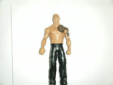 WWE FIGURE THE ROCK BASIC SERIES MATTEL WRESTLING ACTION FIGURE WWF SUPERSTAR